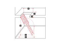 Лестницы и стремянки SVELT Чердачная лестница SVELT SNODABILE 50X90