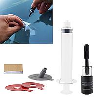 Набор для удаления сколов и трещин на лобовом стекле, полимер