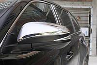 Toyota Highlander XU50 2014 накладки хром на зеркала