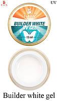 Моделирующий 3-фазный гель F.O.X Builder white gel UV 15 мл