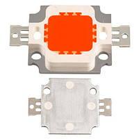 Светодиодная матрица красная 10Вт 270-350лм 9-12В