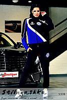 Женский костюм Челси синий с индиго