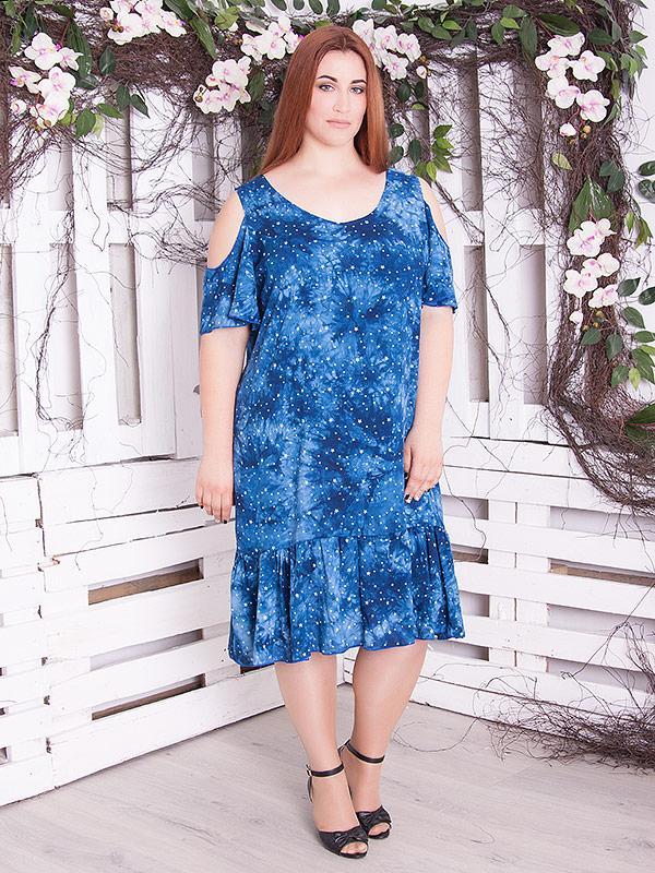 """Платье летнее женское """"Коллет"""" большие размеры"""
