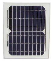 Солнечная панель монокристаллическая 12В 10Вт