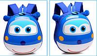 Рюкзак детский дошкольный 3D ортопедический с героями мультфильма Супер Крылья оригинал синий