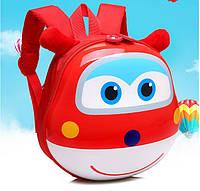 Рюкзак детский дошкольный 3D ортопедический с героями мультфильма Супер Крылья оригинал красный