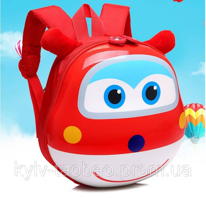 49977af56993 Рюкзак детский дошкольный 3D ортопедический с героями Супер Крылья оригинал  красный - China Style посредник Taobao