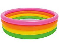 Детский надувной бассейн Intex 56441 «Весёлые колечки»