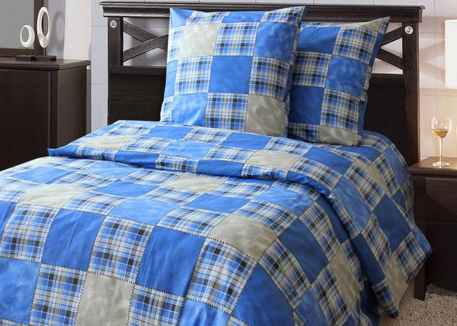 Европейское постельное белье Заплатки, фото 2