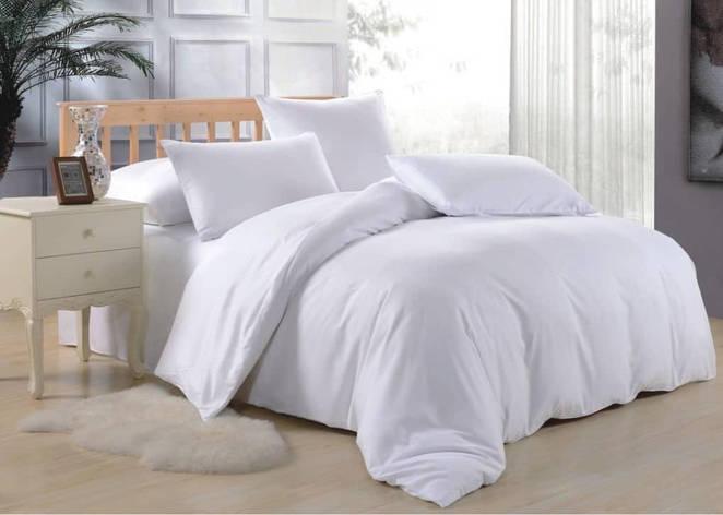 Двуспальное постельное белье Белое , фото 2