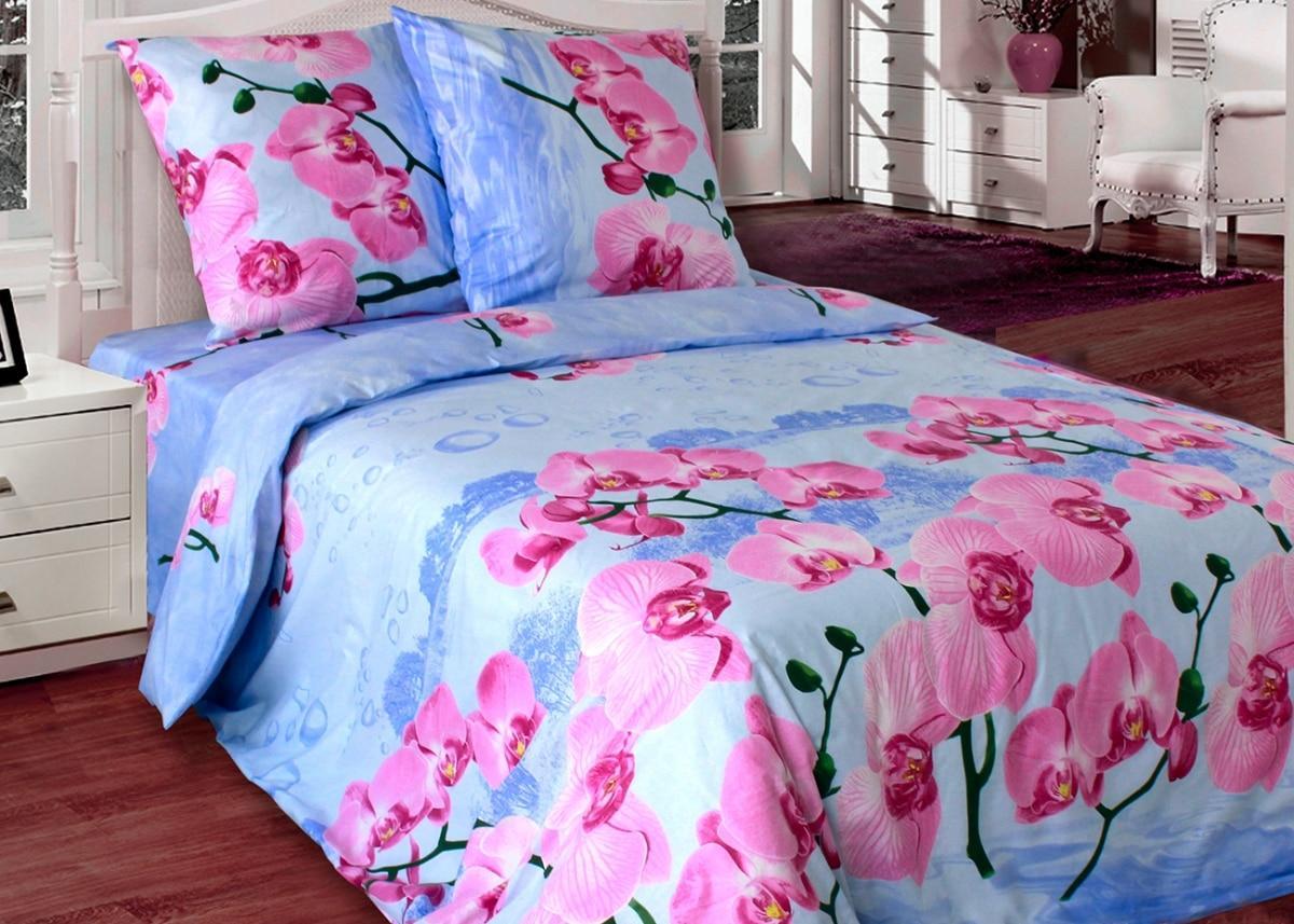 Двоспальне постільна білизна Орхідея