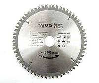 Yato Пильный диск для алюминия 200x30 мм, 60-зубцов 6091
