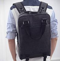 Місткий чоловічий рюкзак з тканини