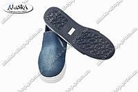 Женские слипоны джинсовые (Код: 8825)