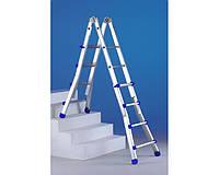 Лестницы и стремянки SVELT Телескопическая лестница SVELT SCALISSIMA PLUS 11+11 ступеней + сумка для инструмента SVELTBAG