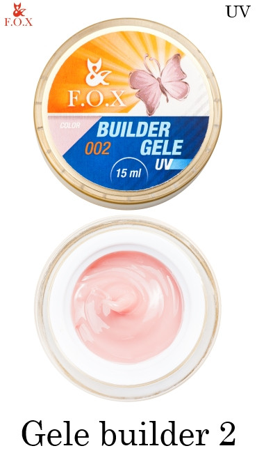 Моделирующий гель-желе №002 F.O.X Gele builder gel UV 15 мл