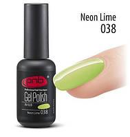 Гель-лак PNB 038 Neon Lime