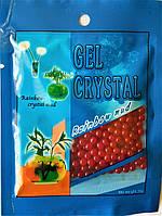 Шарики растущие в воде. Шарики орбиз в пакетике 10 грамм красные.