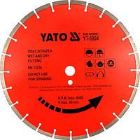 Yato d алмазный диск для бетона 350 х 25,4 мм 5954