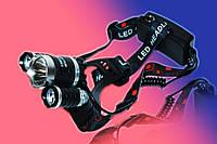 Налобный фонарь Police WX-3000-T6 3 LED 158000W