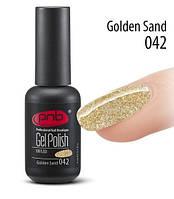 Гель-лак PNB 042 Golden Sand