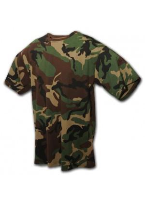 Камуфляжная футболка Woodland( Вудленд)