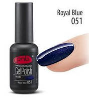 Гель-лак PNB 051 Royal Blue