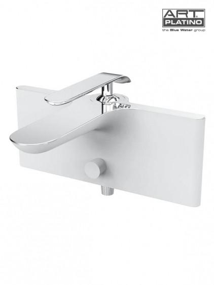Смеситель для ванны Blue Water emi-bwn.020c (белый/хром)
