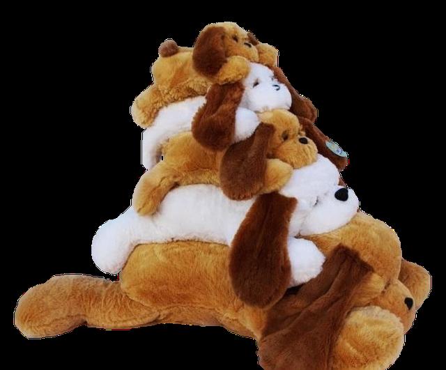 Собачки мягкие игрушки символ 2018 года