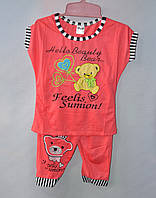 Детский костюм для девочки Мишка 1-5 лет