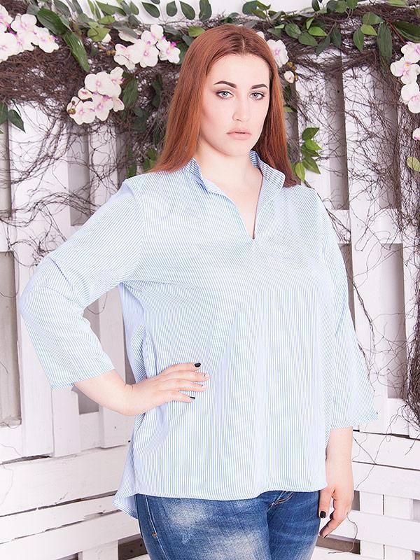 """Женская рубашка большого размера """"Денни"""" для полных женщин"""