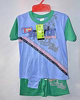 Комплект для мальчика футболка+шорты 1-5 лет