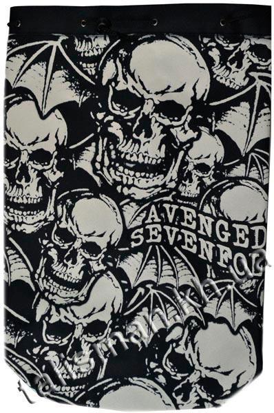 AVENGED SEVENFOLD - (черепа) - рок-рюкзак