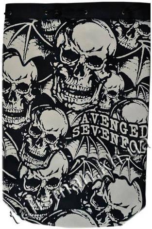 AVENGED SEVENFOLD - (черепа) - рок-рюкзак, фото 2