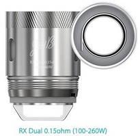 Wismec RX Dual 0,15 Ohm. Сменный испаритель для электронной сигареты. Оригинал