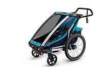 Мультиспортивная коляска Thule Chariot Cross1 (Blue)