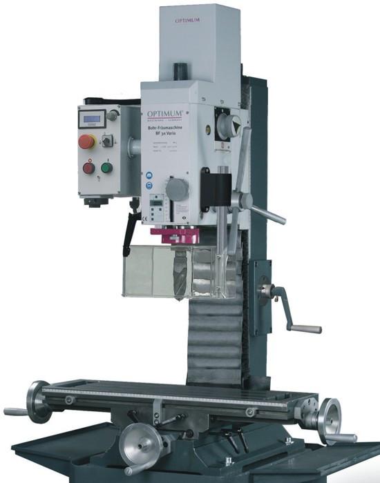 Фрезерный станок по металлу Optimum OPTImill BF 30 Vario (ISO 30)