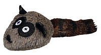 Trixie (Трикси) Racoon Игрушка для кошек Енот плюшевый с кошачьей мятой