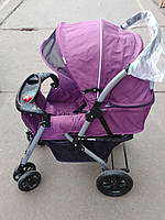 Детская коляска Hope HP720 фиолетовая