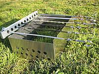 Шашлычница ПП-3 ( вращатель шампуров и разборной мангал)