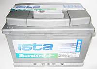 Аккумулятор автомобильный Ista 6СТ-77 Aз Standart