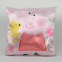 Мягкая игрушка подушка детская Свинка Пеппа