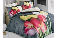 Постельное белье Tulip Сатин 3D Luoca Patisca