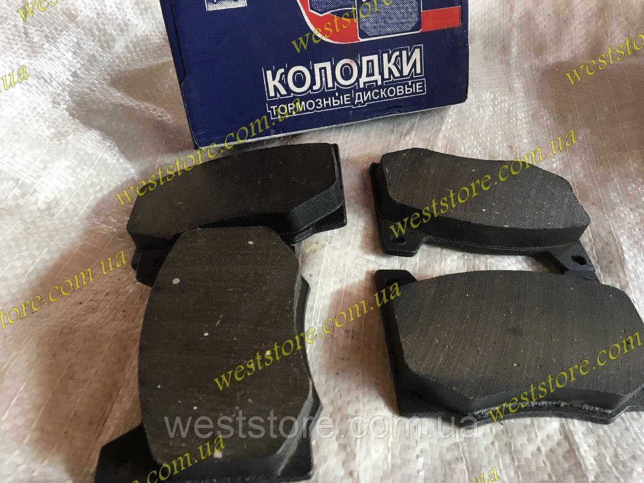 Колодки тормозные передние Москвич (М-412, 2140) STOP