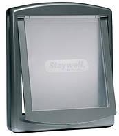 Дверца Staywell Original для кошек, серая, 236х198мм
