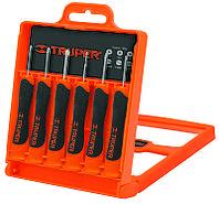Набор отверток прецизионных 6 единиц (3 ед - шлиц 1,4-2,4; 3 ед - крест PH000-PH1) Truper