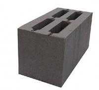 Блок бетонный стеновой  высококачественный сплошной фундаментный блок 390х190х188