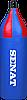Мешок боксерский шлемовидный Senat 70х21, ПВХ, синий, 1215-bl