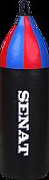 Мешок боксерский шлемовидный Senat 70х21, кожзам, чорный, 1222-blk