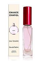 Женский парфюм в мини-флаконе  Chanel Chance Eau Tendre (Шанель Шанс Тендер),20 мл
